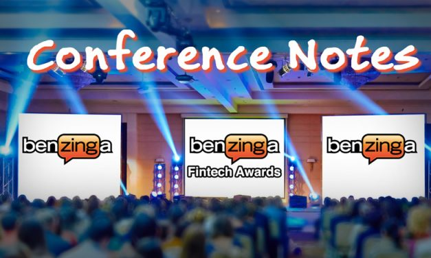 Benzinga FinTech Awards – Notes from the Conference (1)