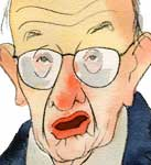 Greenspan Poops the Party