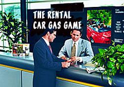 Rental Car Gas Game