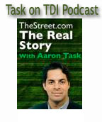 Aaaron Task on TDI Podcast