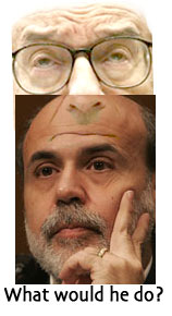 Greenspan and Bernanke
