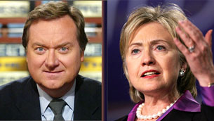 Clinton and Russert