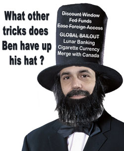 Bernanke's Magic Hat