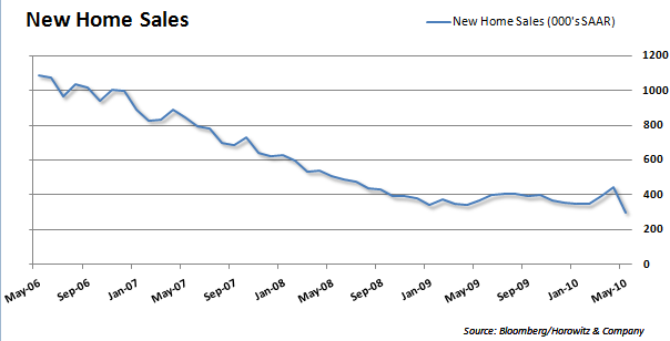 New Home Sales 20100623