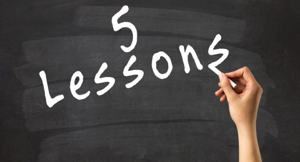 TDI Podcast: 5 Lessons (#606)